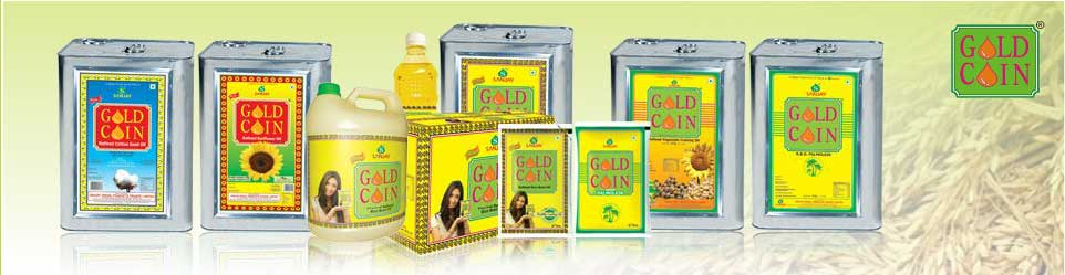 Refined Sunflower Oil Gold Coin Manufacturers In Telangana